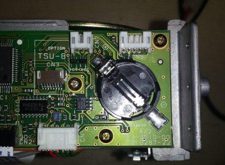 Sostituire la batteria di memoria al Kenwood TM-255