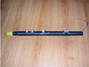 Antenna HF portatile con canna da pesca senza toroide (80-40-30-20-17)