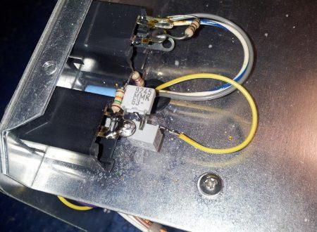 Modifica per usare un microfono a condensatore su un ARR TR10GA